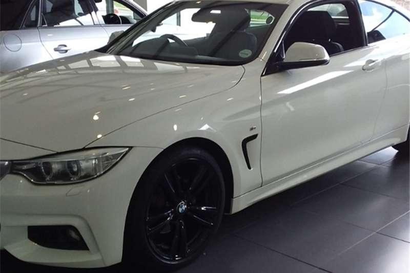 2015 BMW 4 Series 420d coupe M Sport auto