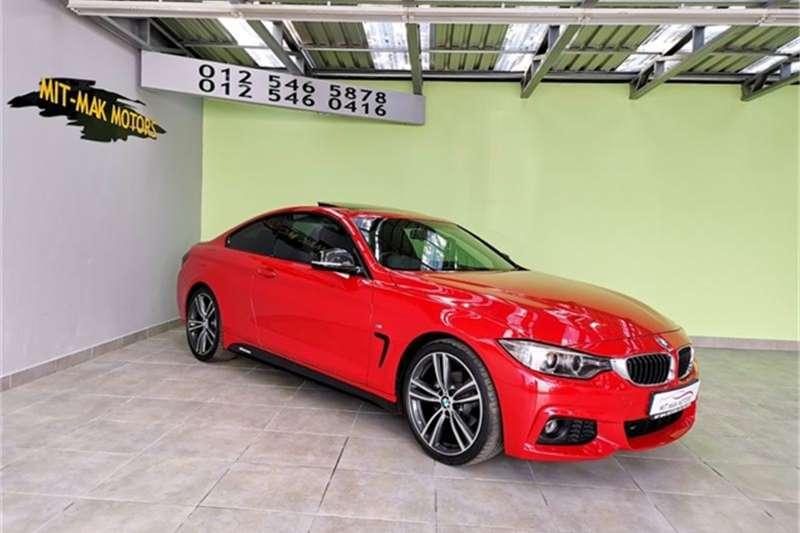 2015 BMW 4 Series 420i coupe M Sport auto