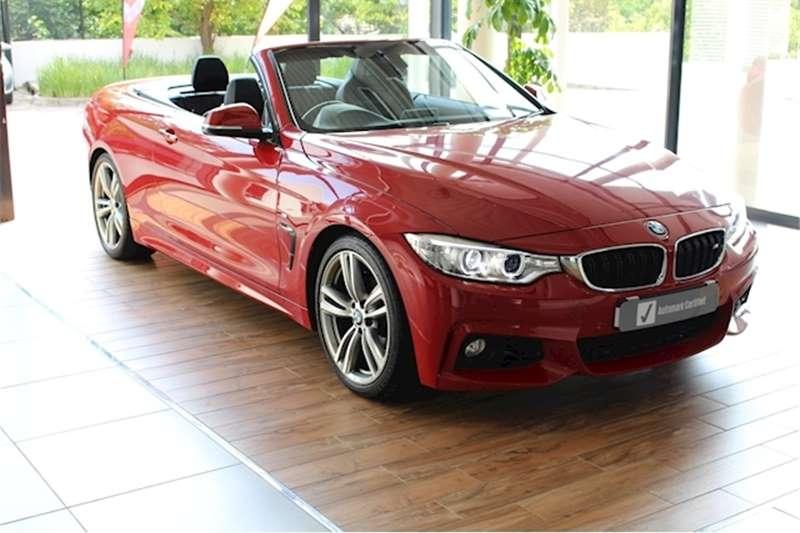 2016 BMW 4 Series 420i convertible auto