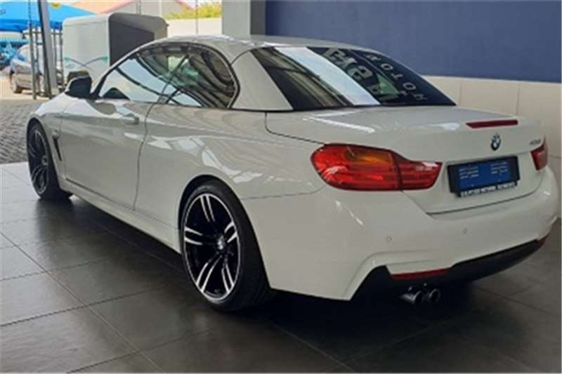 2014 BMW 4 Series 428i convertible M Sport auto