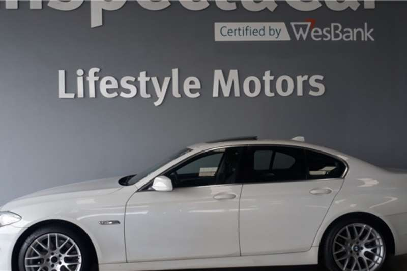 BMW 5 Series 520d Exclusive 2011