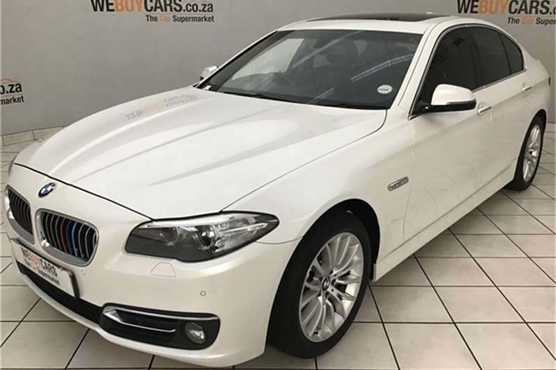 BMW 5 Series 520d Luxury 2014