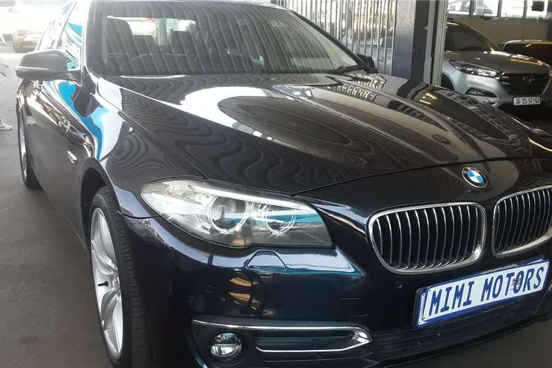 Used 2015 BMW 5 Series 520d Luxury Line