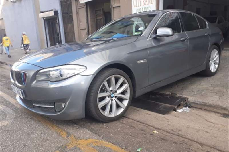 Used 2011 BMW 5 Series 520d M Sport steptronic