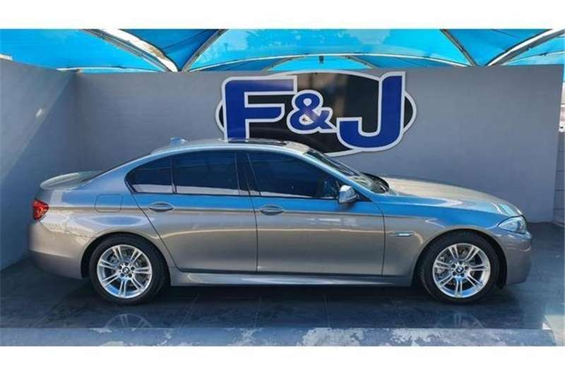 BMW 5 Series 520d M Sport steptronic 2012