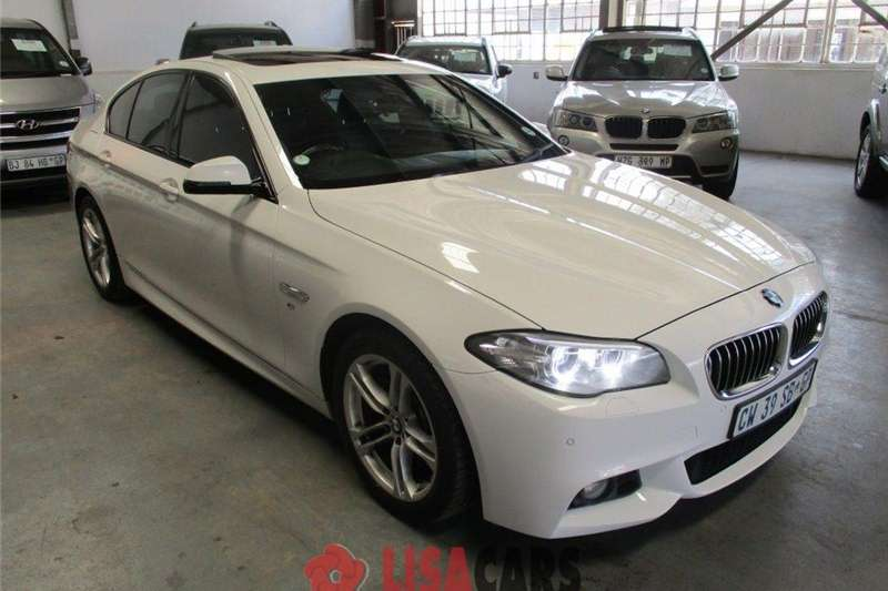 BMW 5 Series 520d M Sport steptronic 2014