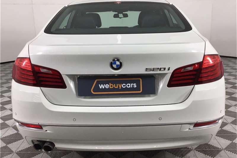 Used 2014 BMW 5 Series 520i Luxury