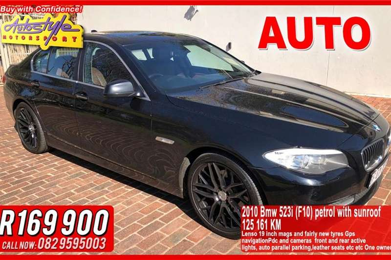 BMW 5 Series 523i Exclusive steptronic 2010
