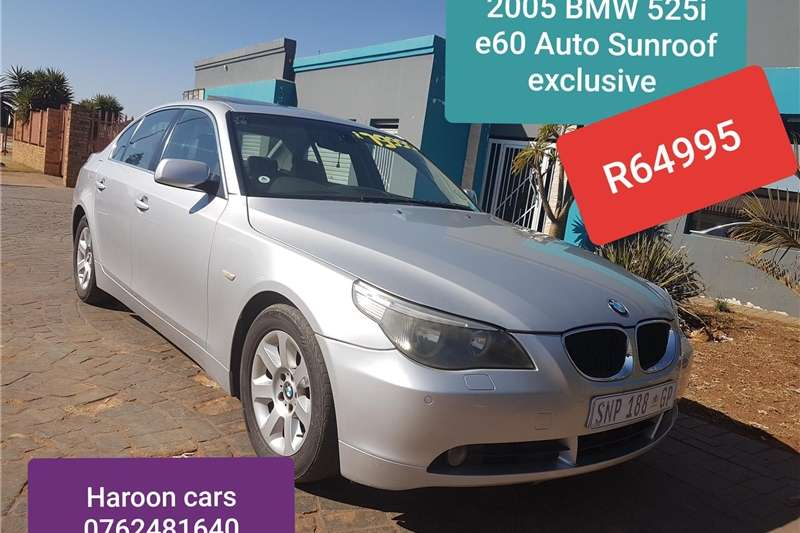 BMW 5 Series 525i Exclusive 2005