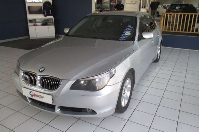 BMW 5 Series 525i steptronic 2008