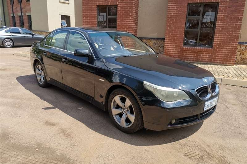BMW 5 Series 530d Exclusive steptronic 2004