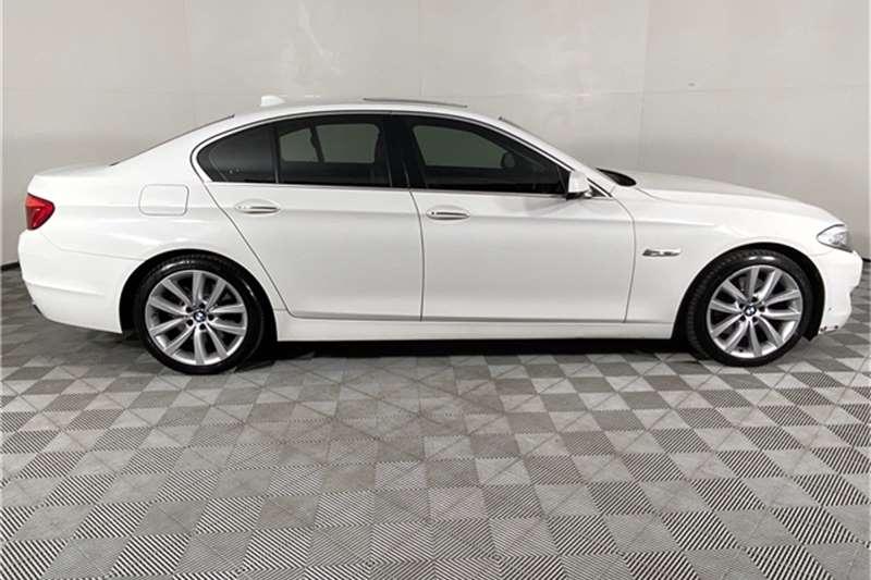 2012 BMW 5 Series 550i