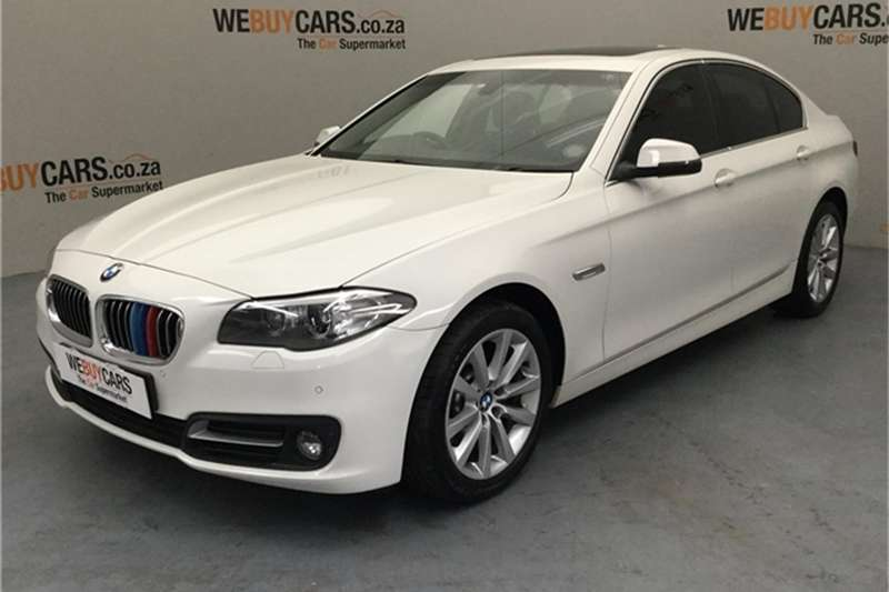 2016 BMW 5 Series 520i Luxury