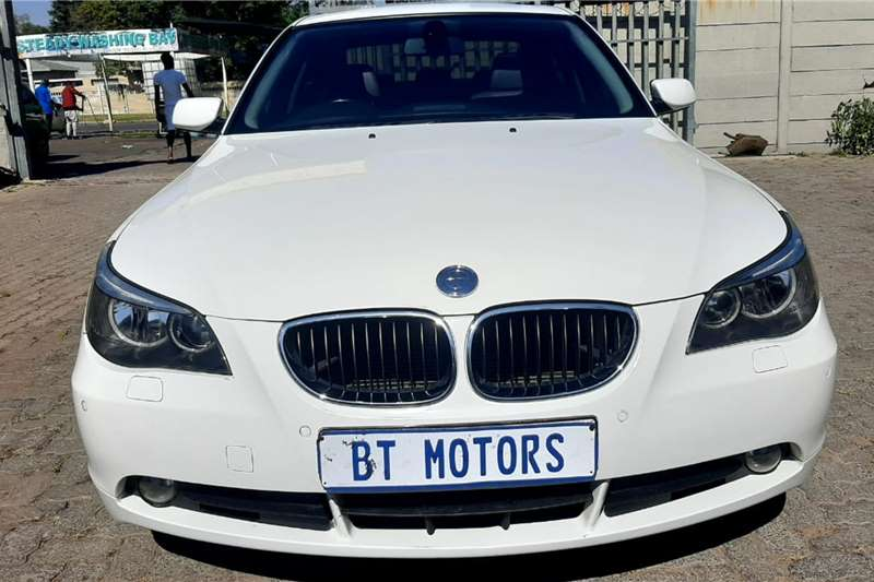 Used 2007 BMW 5 Series Sedan 520i SPORT LINE A/T (G30)