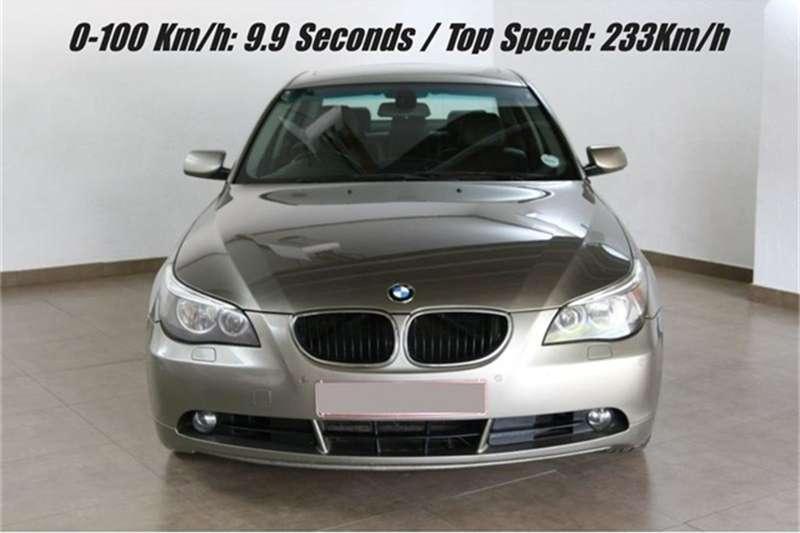 2005 BMW 5 Series sedan