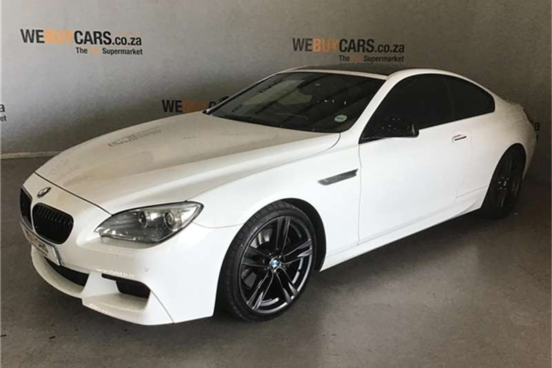BMW 6 Series 640d coupé 2012