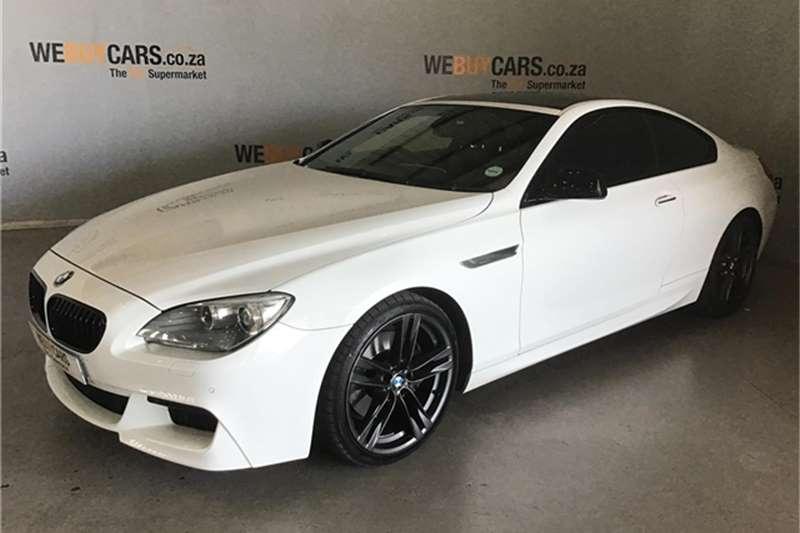 BMW 6 Series 640d coupé 2012