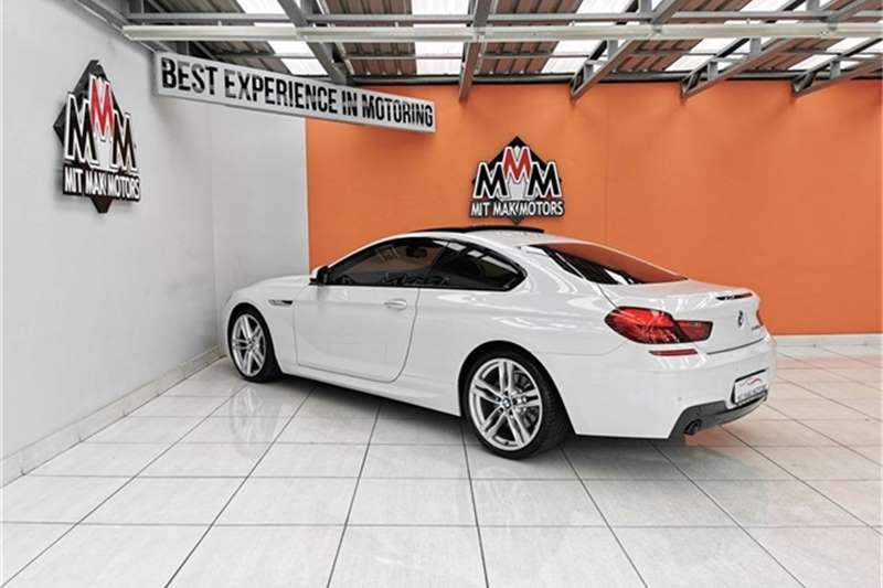 BMW 6 Series 640d coupe M Sport 2013