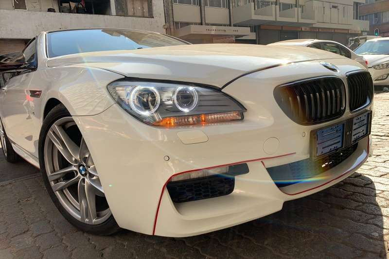 BMW 6 Series 640d coupe M Sport auto 2014