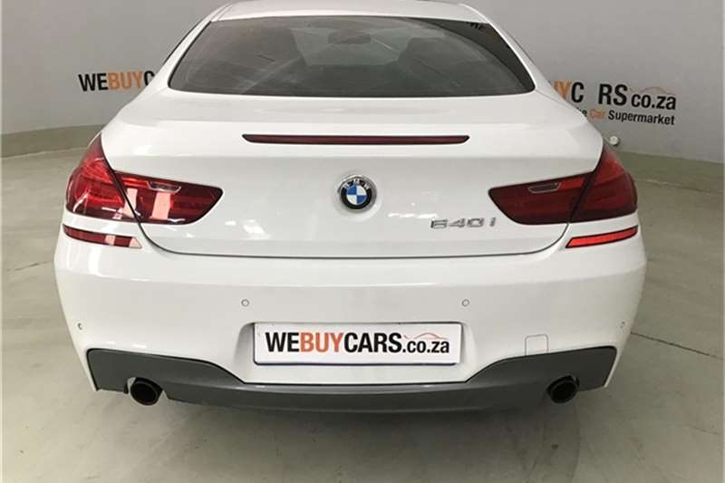 BMW 6 Series 640i coupé 2012