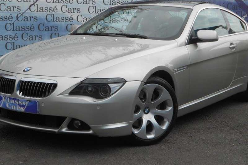 BMW 6 Series 645Ci steptronic 2005