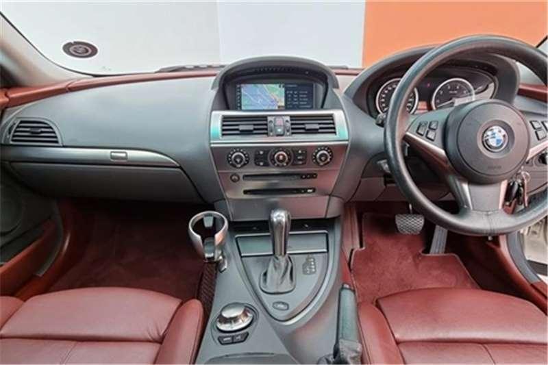 Used 2005 BMW 6 Series 645Ci steptronic