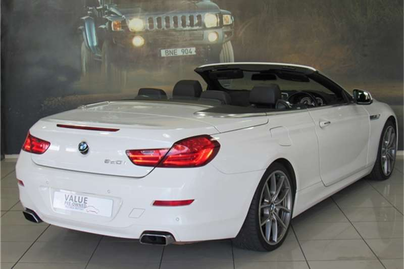 Bmw 6 Series 650i Convertible For Sale In Western Cape Auto Mart