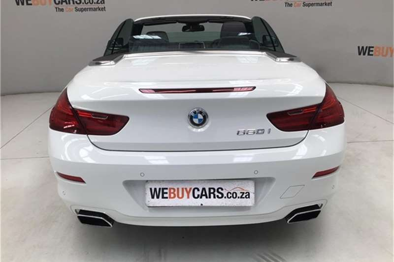 Bmw 6 Series 650i Convertible For Sale In Gauteng Auto Mart