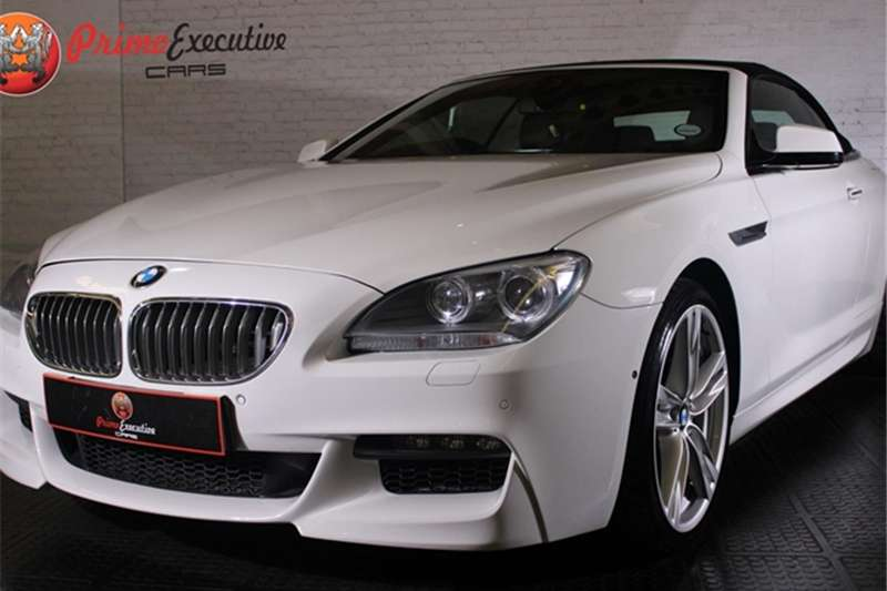 BMW 6 Series 650i convertible M Sport 2013
