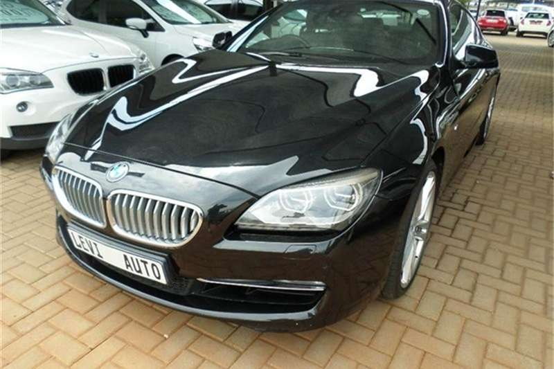 BMW 6 Series 650i coupé 2012