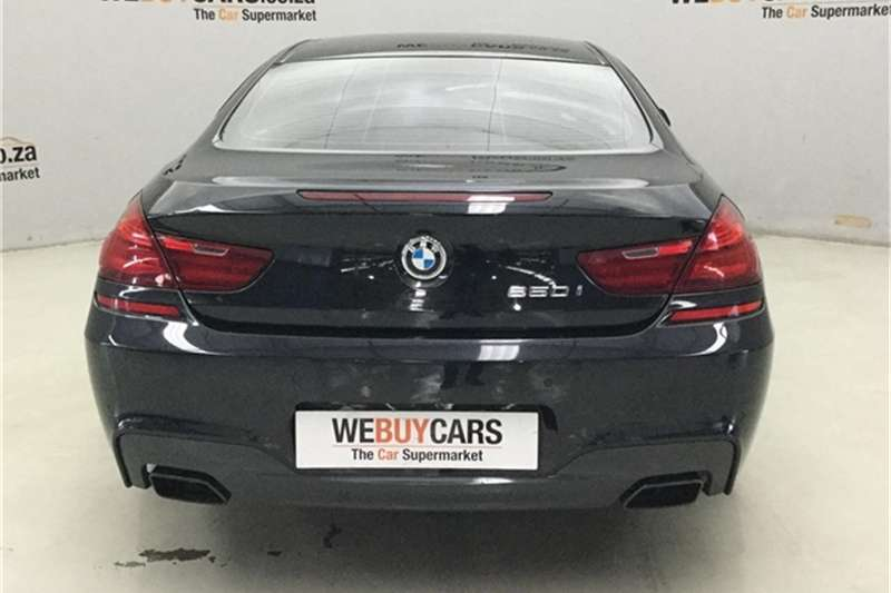 BMW 6 Series 650i coupe M Sport 2017