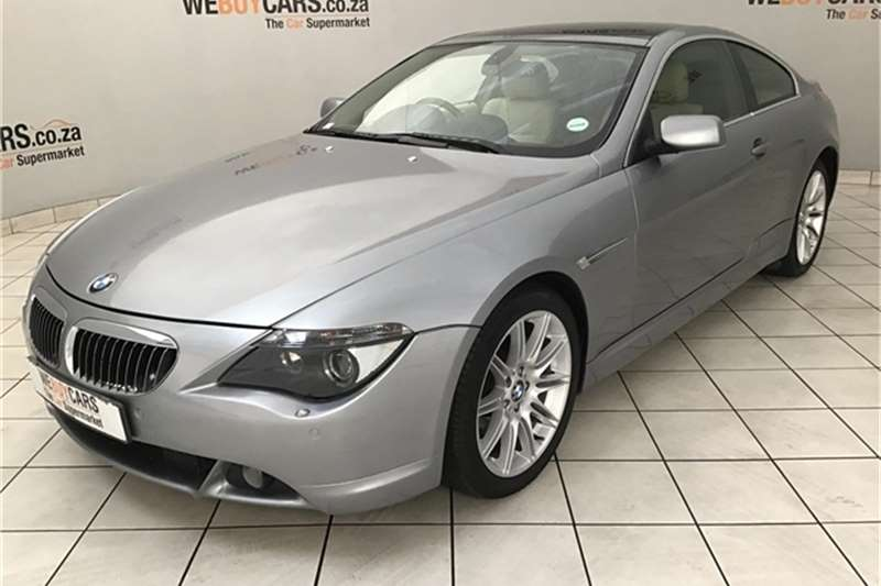 BMW 6 Series 650i steptronic 2006