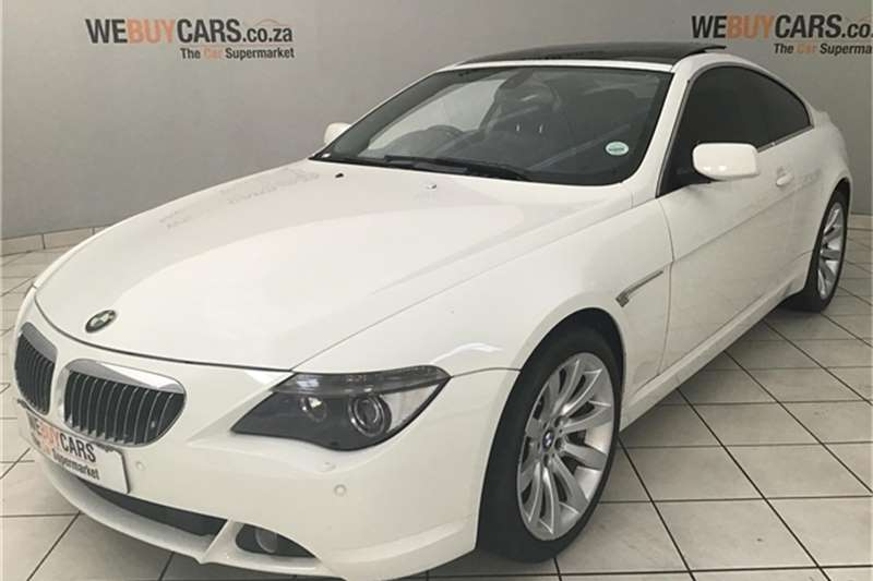 BMW 6 Series 650i steptronic 2007