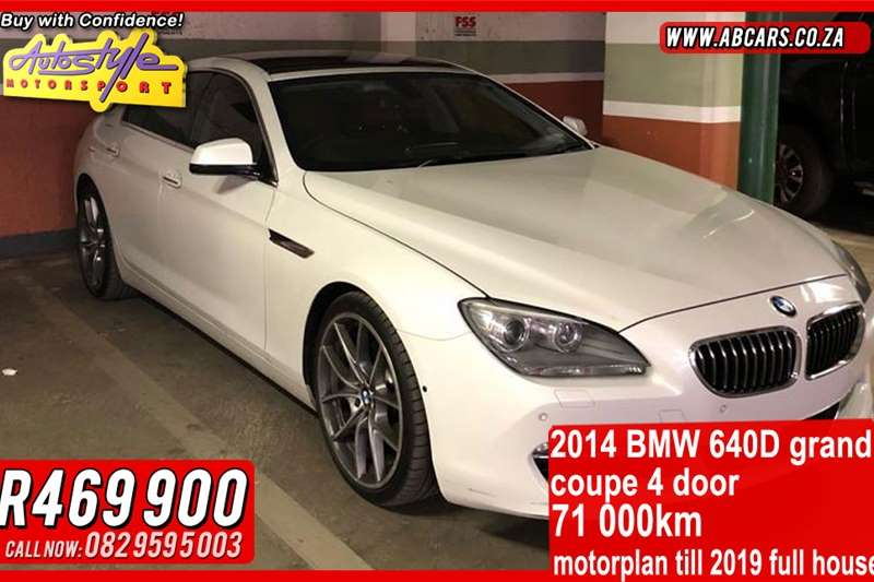 BMW 6 Series Coupe 640D COUPE INDIVIDUAL A/T (F13) 2014
