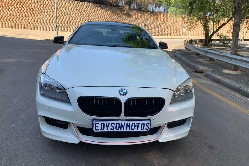 2014 BMW 6 Series coupe 640D COUPE M SPORT A/T (F13)