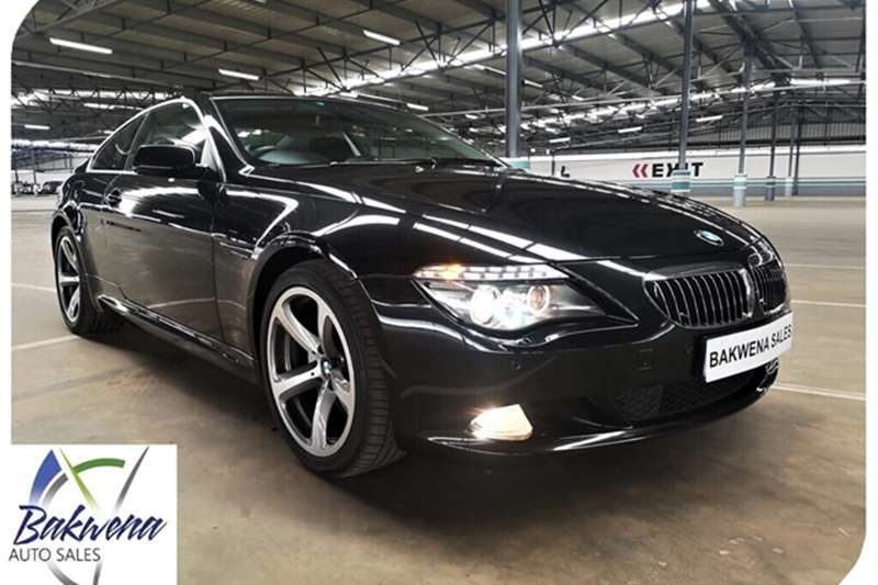 BMW 6 Series COUPE INDIVIDUAL A/T (E63) 2009