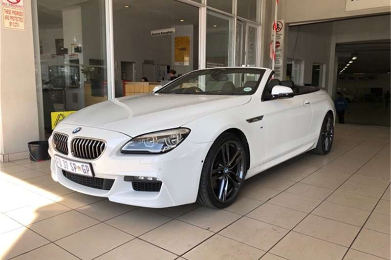 2016 BMW 6 Series 640i convertible M Sport
