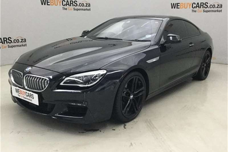 2017 BMW 6 Series 650i coupe M Sport