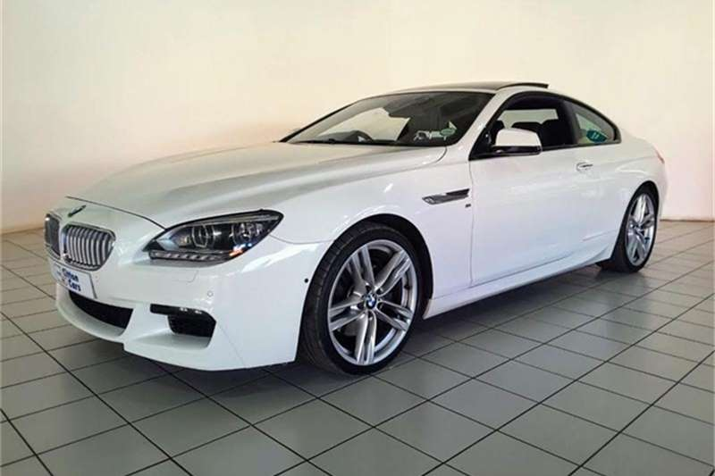 2012 BMW 6 Series 650i coupé