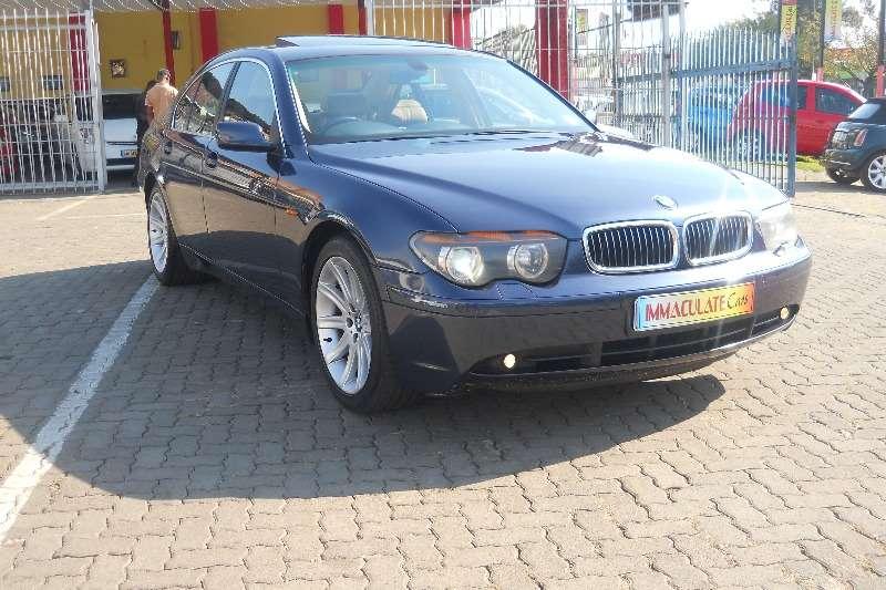 BMW 7 Series 745i 2002