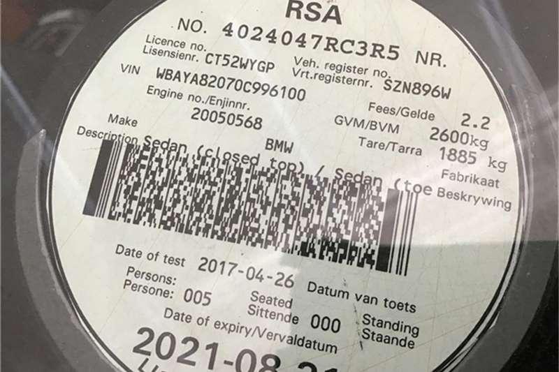 BMW 7 Series 750i M Sport 2013
