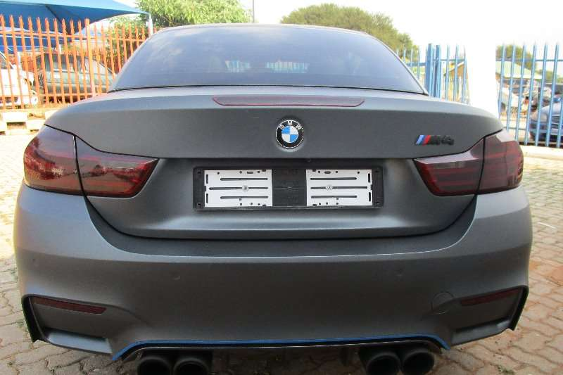 BMW M4 Convertible Auto 2014