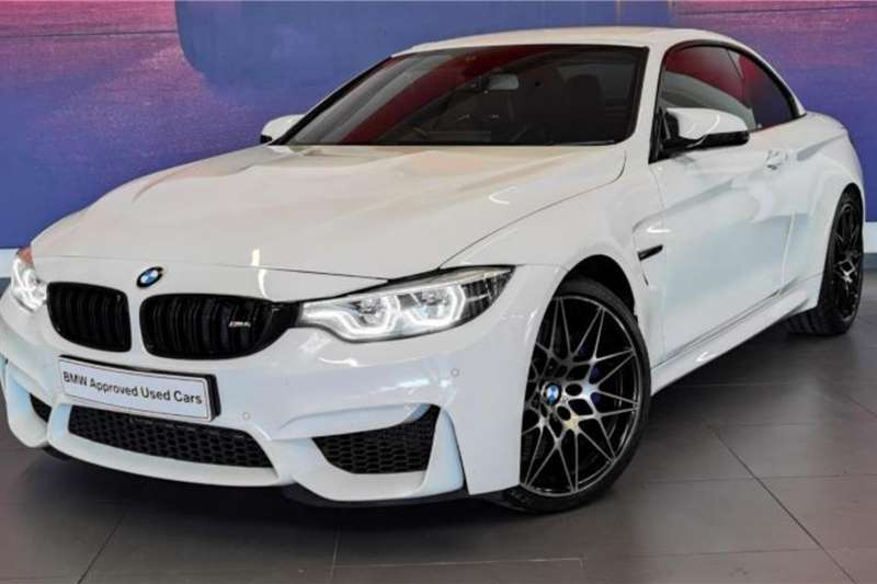 Used 2017 BMW M4 Convertible M4 CONVERTIBLE M DCT COMPETITION (F83)