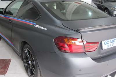 BMW M4 coupe Competition auto 2015