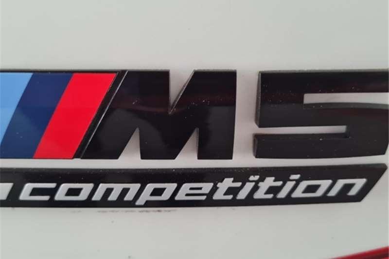 BMW M5 Sedan M5 M DCT COMPETITION (F90) 2018