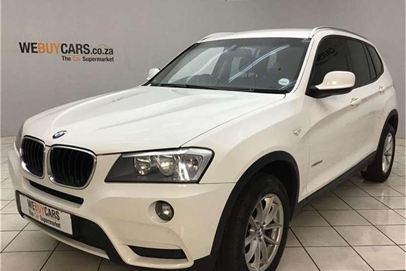2012 BMW X series SUV X3 xDrive20d Exclusive