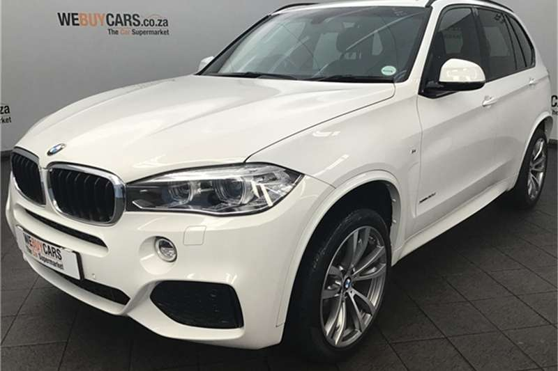 2017 BMW X series SUV X5 xDrive30d M Sport