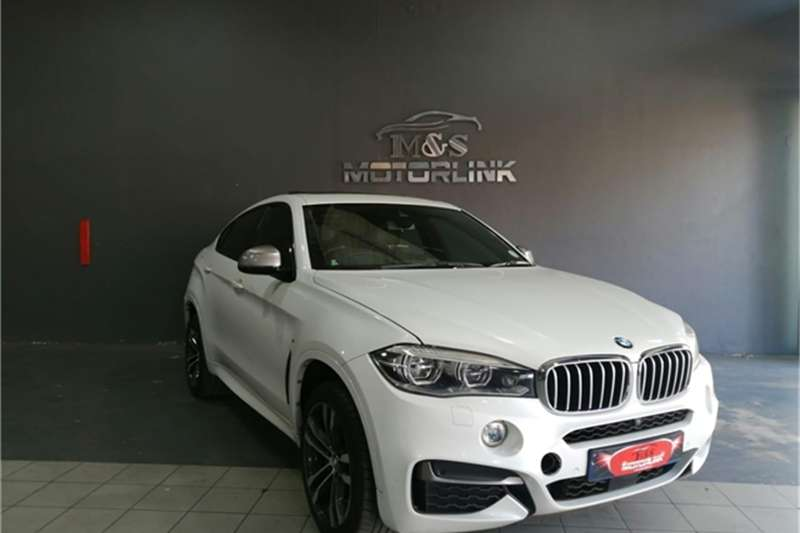 2016 BMW X series SUV X6 M50d