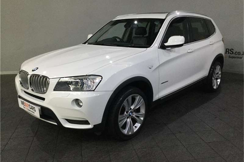 2012 BMW X series SUV X3 xDrive30d