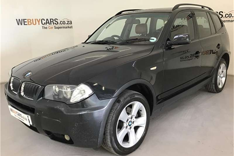 2006 BMW X series SUV X3 2.0d